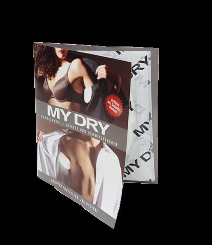 MYDRY Achselpads Probierpack 6 Stück | nur 0,90€ für Versand**