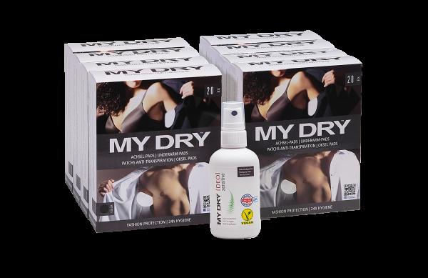 MYDRY Wohlfühlpaket | Achselpads & [DEO] sensitive
